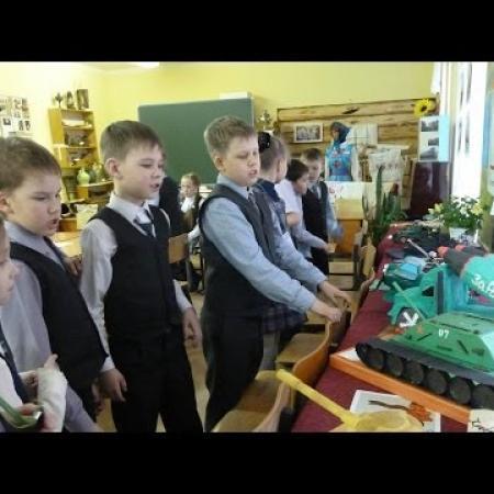 Урок Победы в школе 19 г. Йошкар-Олы
