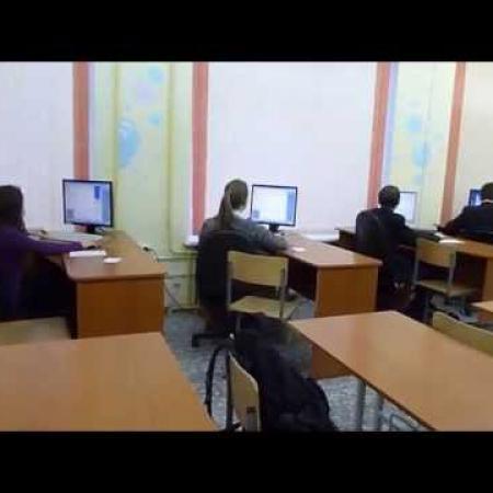 Урок информатики в школе 19 г.Йошкар-Олы